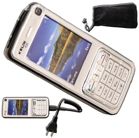 Self Defense Cell Phone Style Stun Gun 2 Lakh Volt